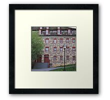 Wall Of Windows Framed Print