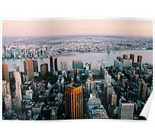 NYC Sky View Part Four - Tinted Poster