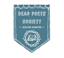 Society Crest (Teal) Photographic Print