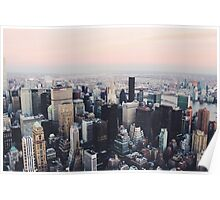 NYC Sky View Part One Poster