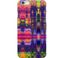 Wild patterns in 1001 night colors iPhone Case/Skin