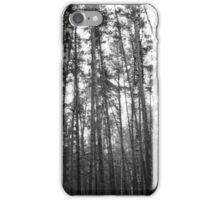 Birch Forest Noir iPhone Case/Skin