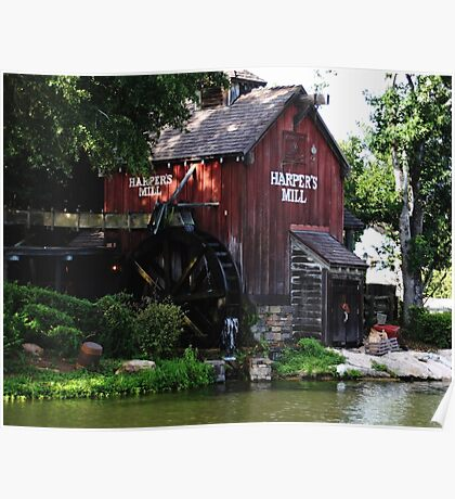 Harpers Mill Poster