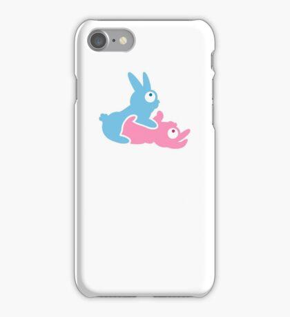 Bunnies making Bunnies VRS2 iPhone Case/Skin