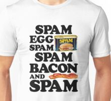Spam Egg Bacon and Spam Unisex T-Shirt