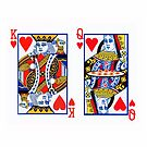 King and Queen of Hearts by goanna