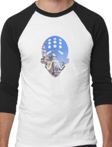 Nepal Men's Baseball ¾ T-Shirt