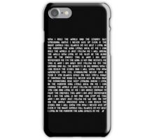 The Meme of King JJ - White Text iPhone Case/Skin