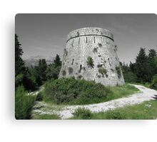 Fort Wellington, 1813, Korcula, Croatia Canvas Print