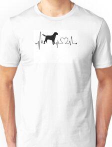 Labrador Heartbeat Unisex T-Shirt