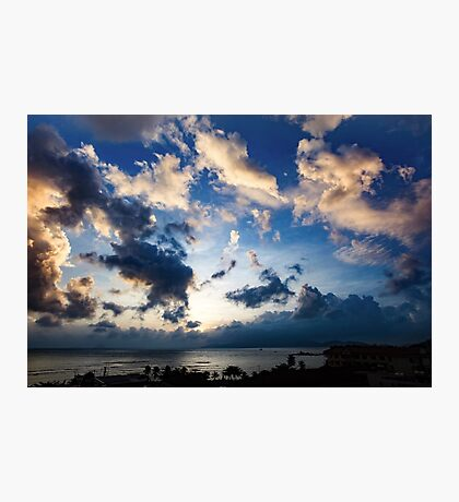 Morning Sky Vietnam Photographic Print