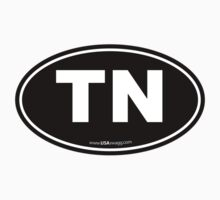 Tennessee TN Euro Oval  Kids Clothes