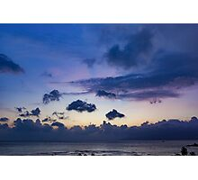 Morning Skies Vietnam  Photographic Print