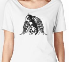 Angel Kitty Women's Relaxed Fit T-Shirt