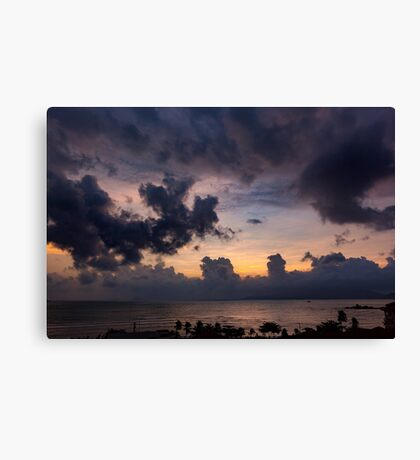 Morning Sky In Vietnam Canvas Print