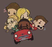 Team Arrow Goes: Road trip! (Bigger!) T-Shirt