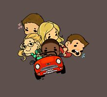 Team Arrow Goes: Road trip! (Bigger!) T-Shirt