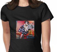Hot Dog Samurai Womens Fitted T-Shirt