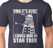 Dr Who Dalek Star Wars Star Trek Joke Shirt Unisex T-Shirt