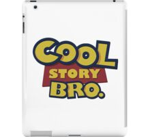 Cool story Bro toy Story iPad Case/Skin