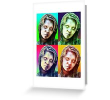 Different Colored Zombies  Greeting Card