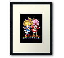 Besties Framed Print