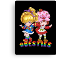 Besties Canvas Print