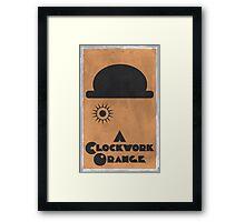 A Clockwork Orange Poster Framed Print