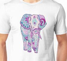 purple tribal elephant Unisex T-Shirt