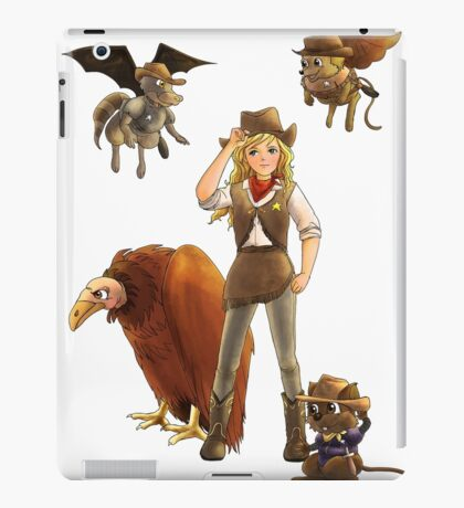 Tammy and her Little Critters iPad Case/Skin