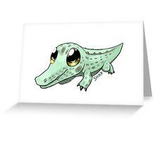 Croc Cutie Greeting Card