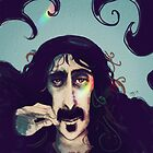Frank Zappa by womoomow