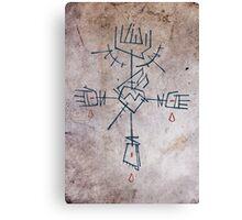 Religious christian Cross Canvas Print