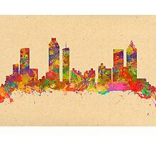 Skyline of Atlanta Georgia USA Photographic Print