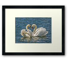 The Tryst Framed Print