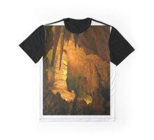 Beautiful Cave Interior Graphic T-Shirt