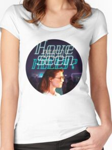 Black Mirror - San Junipero - Have you seen Kelly? Women's Fitted Scoop T-Shirt
