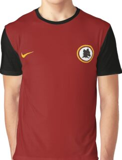 AS Roma Old Logo Graphic T-Shirt