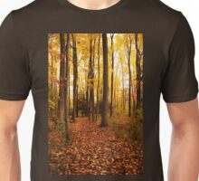 Woods In Autumn Unisex T-Shirt