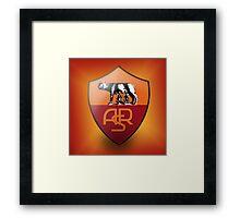 Roma Calcio Framed Print