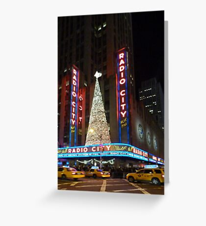 Radio City at Christmas II Greeting Card
