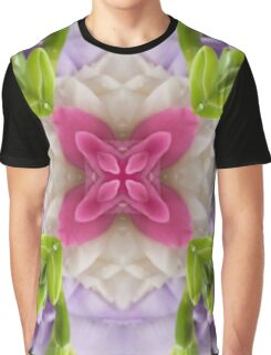 Kaleidoscope | Spring Flowers 3 Graphic T-Shirt