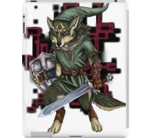 Link Wolf iPad Case/Skin