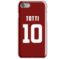 Totti Number 10 iPhone Case/Skin