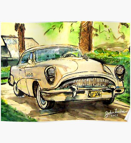 Buick Roadmaster Poster