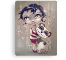 Panda Love... with a big L Canvas Print