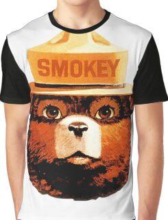 Smokey The Bear Graphic T-Shirt
