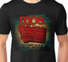 moe. tour 2016-2017 at the wilma-missoula.MT Unisex T-Shirt