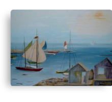 Sails in the Distance  Canvas Print