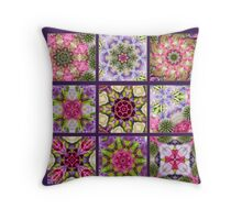 Kaleidoscope | Flower Quilt Throw Pillow